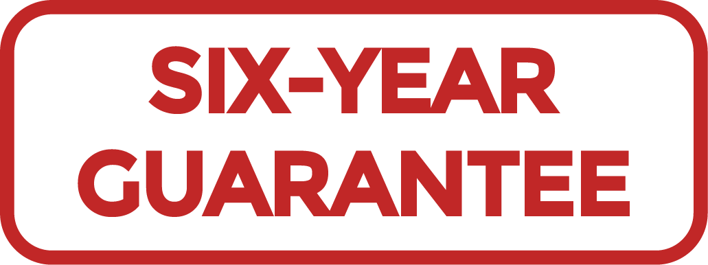 Six Year Guarantee
